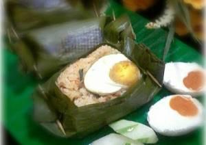 resep nasi bakar telur asin Yohanes Chandra Ekajaya Berbagi Resep Nasi Bakar Telur Asin