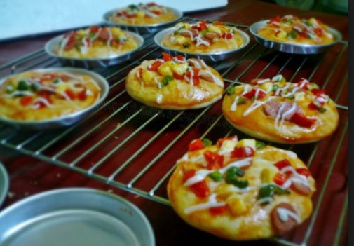 Loyang Pizza Mini Cetakan Bahan Stainless